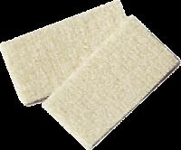 Standardowe wkładki czyszczące 10 szt. + 1 pierść. 46 x 24 x 4 mm